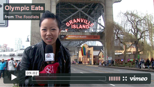 Olympic Eats on Granville Island