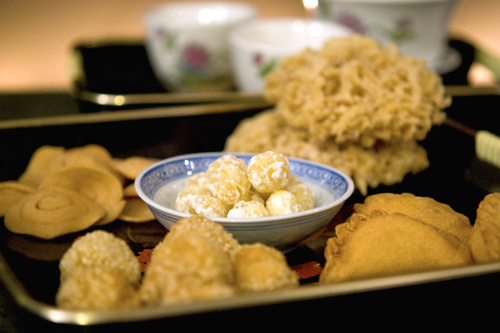 Chinese New Year snack foods demystified by Melody Fury