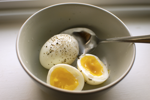 Perfect Soft Boiled Eggs' Yoiks