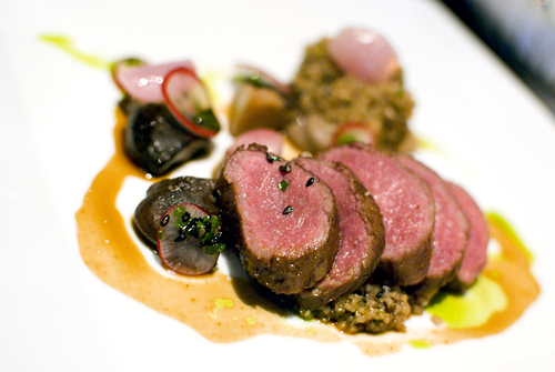 Ensemble Restaurant Vancouver Lamb by Melody Fury