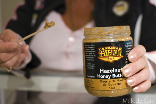 Agassiz hazelnut butter by Melody Fury