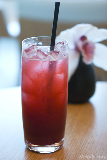 Cherry Yuzu Soda at Market by Jean Georges in Vancouver by Melody Fury