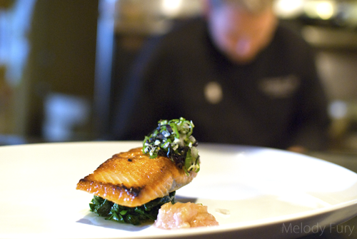 Restaurant 62 Abbotsford Salmon by Melody Fury