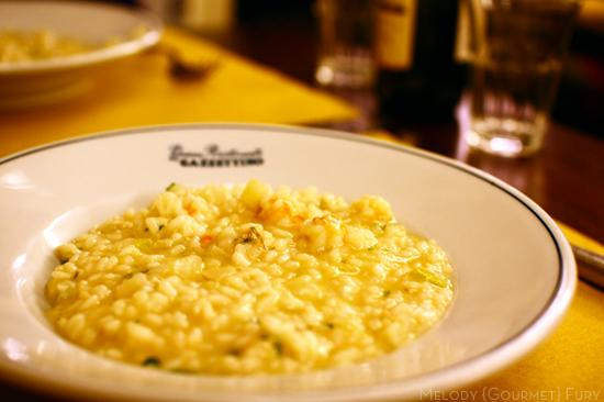 Seafood risotto Seafood risotto at Trattoria Al Gazzettino in Venezia Venice Italy by Melody Gourmet Fury