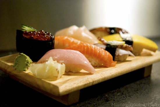 Nigiri Sea Choice Ocean friendly sustainable seafood, sashimi, sushi by Melody Gourmet Fury