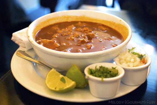 Menudo at Takoba  in Austin, Texas by Melody Gourmet Fury