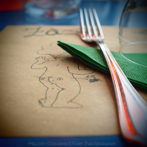 Menu at Ristorante Trattoria ZaZa Firenze in Florence Italy by Melody Fury Photography. Food, Drink, Restaurant Photographer and Writer in Vancouver BC and Austin TX