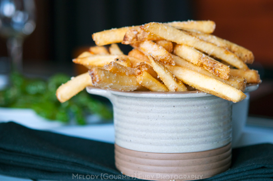 Truffle fries at Bar Congress by Melody Fury Photography. Food, Drink, Restaurant Photographer and Writer in Vancouver BC and Austin TX