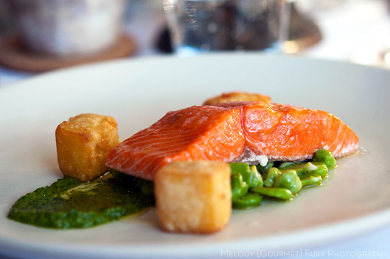 Salmon at Chefs in Residence by Butter on the Endive by Melody Fury Photography. Food, Drink, Restaurant Photographer and Writer in Vancouver BC and Austin TX