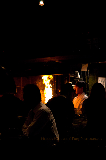Chef at Yakitori Akira Grilled Chicken Restaurant 焼鶏 あきら in Naka-meguro, Tokyo Japan