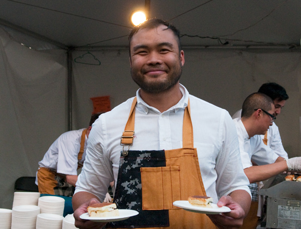 Paul Qui at Austin Food & Wine Festival  by Melody Fury | Food, Drink, Restaurant Photographer and Writer in Austin TX and Vancouver BC