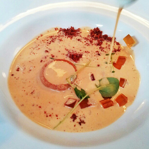 Lobster bisque at Longman and Eagle Restaurant in Chicago by Melody Fury | Food, Drink, Restaurant Photographer and Writer in Austin TX and Vancouver BC