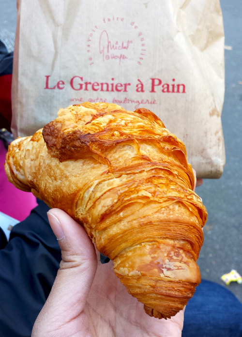 Best croissants in Paris France Le Grenier à Pain by Melody Fury | Food, Drink, Restaurant Photographer and Writer in Austin TX and Vancouver BC