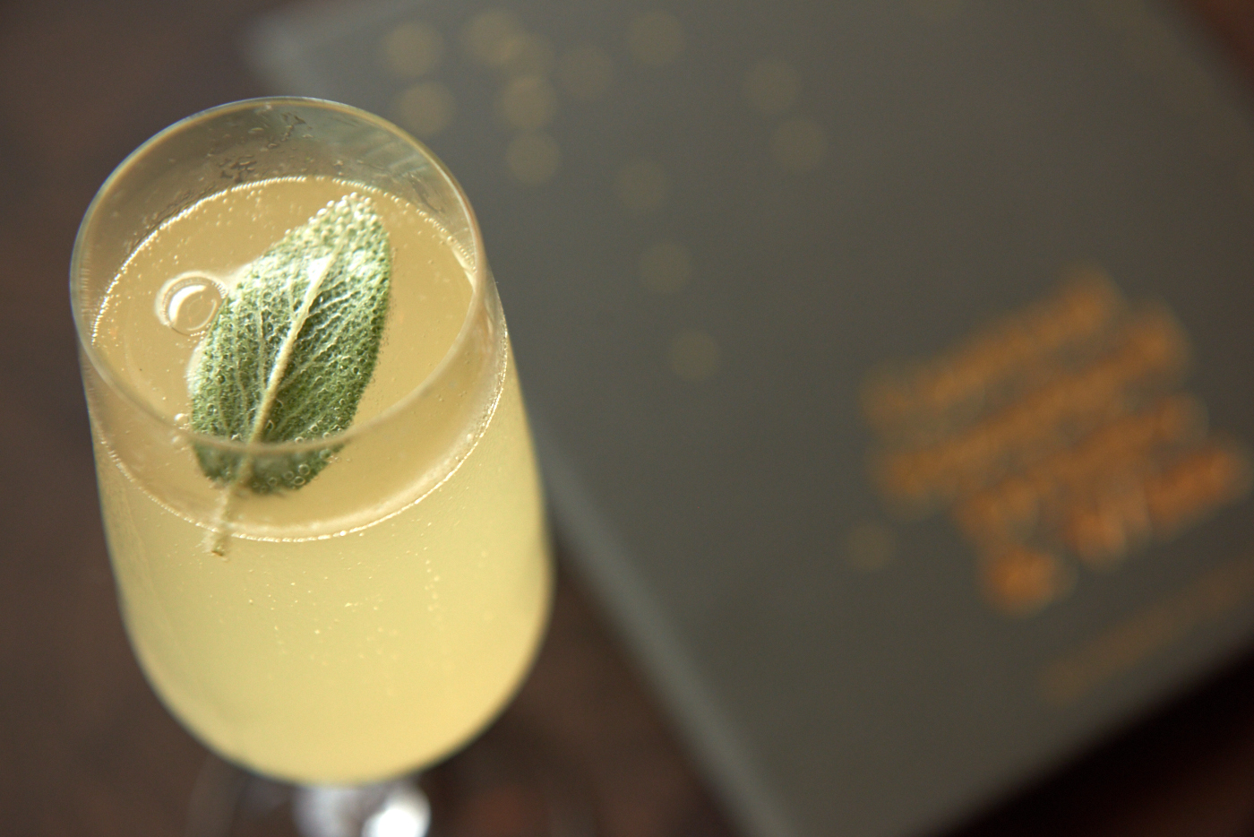 Pear & Sage Cocktail at Central Standard | Map of the Best Mimosas in Austin by Melody Fury | Photo by Central Standard Official
