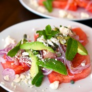 Jalapeno Compressed Watermelon Salad Recipe and a Quick Bonus Appetizer