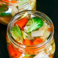 Brussels Sprout Kimchi Recipe from The Everyday Fermentation Handbook
