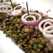 Bouchon's Lentils Vinaigrette Recipe