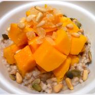 Mangoes and Steel Cut Oats Recipe