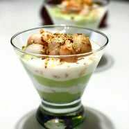 Mangosteen Avocado Yogurt Parfait Recipe