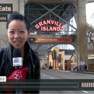 Melody Fury Eats the Olympics on Granville Island [Video]