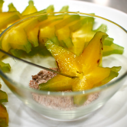 Starfruit in Quick Chilli Plum Dip Recipe